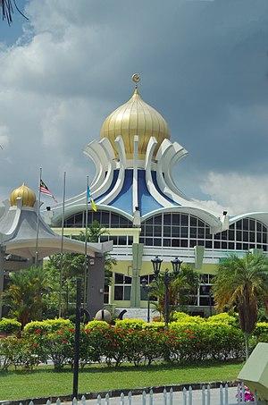 George Town (Penang)'daki Penang Eyaleti Camii.