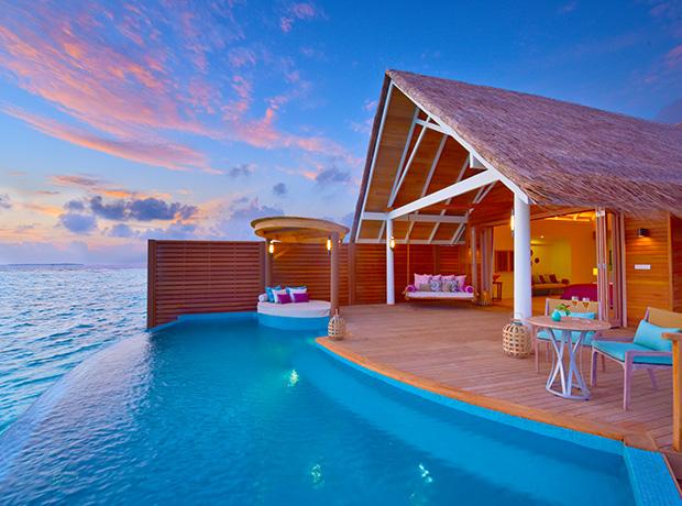 Maldivler'de Turizm Bölgesi