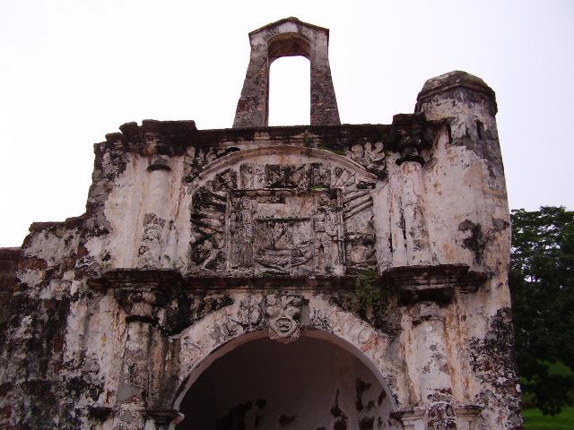 Portekizlilerin 15. yüzyılda Malezya'ya bıraktığı eserlerden biri.