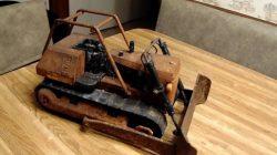 1970 Model Oyuncak Buldozer Restorasyonu