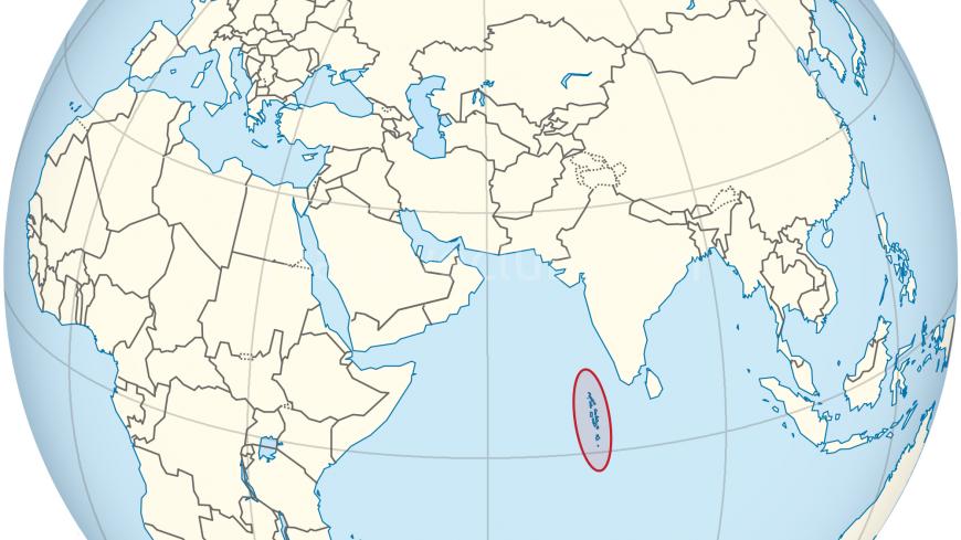 Maldivlerin haritadaki konumu