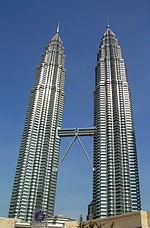 Dünyaca ünlü Petronas Kuleleri