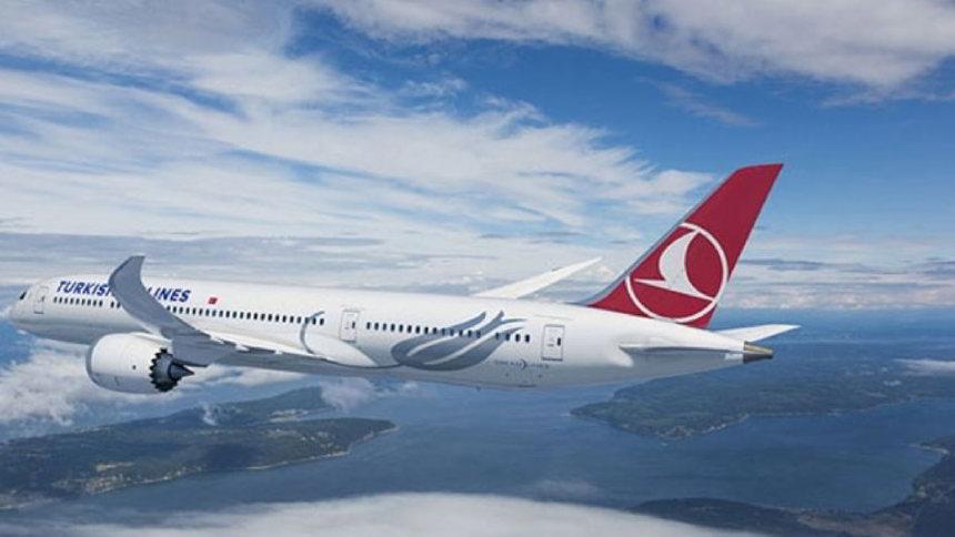 THY'nin ilk Rüya Uçağı Boeing 787-9 Dreamliner Gökyüzü İle Buluştu