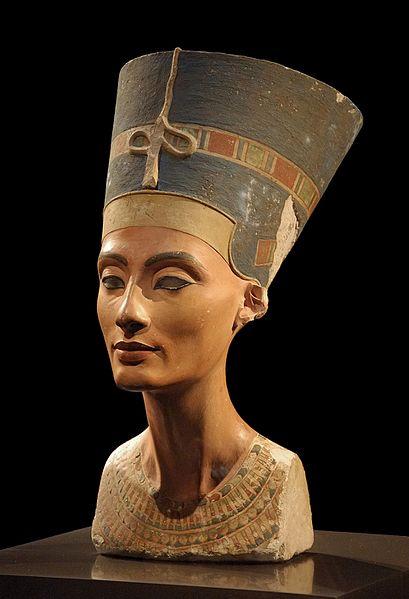 Kraliçe Nefertiti'nin büstü