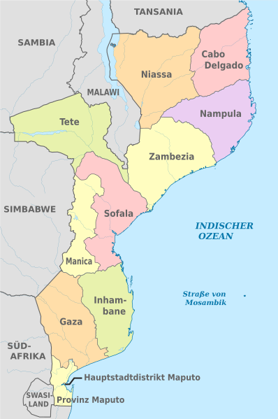 Mozambik'in bölgeleri