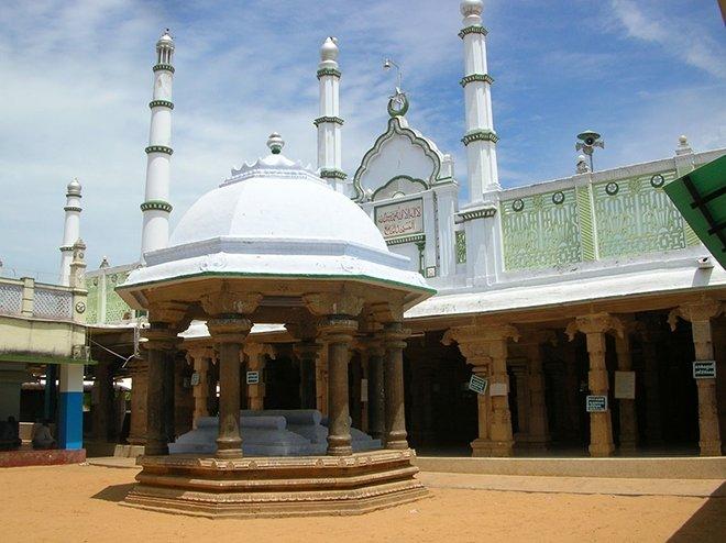 Palaiya Jumma Camii / Kilakarai, Hindistan . yapım: 628