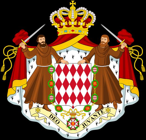 Monako Arması