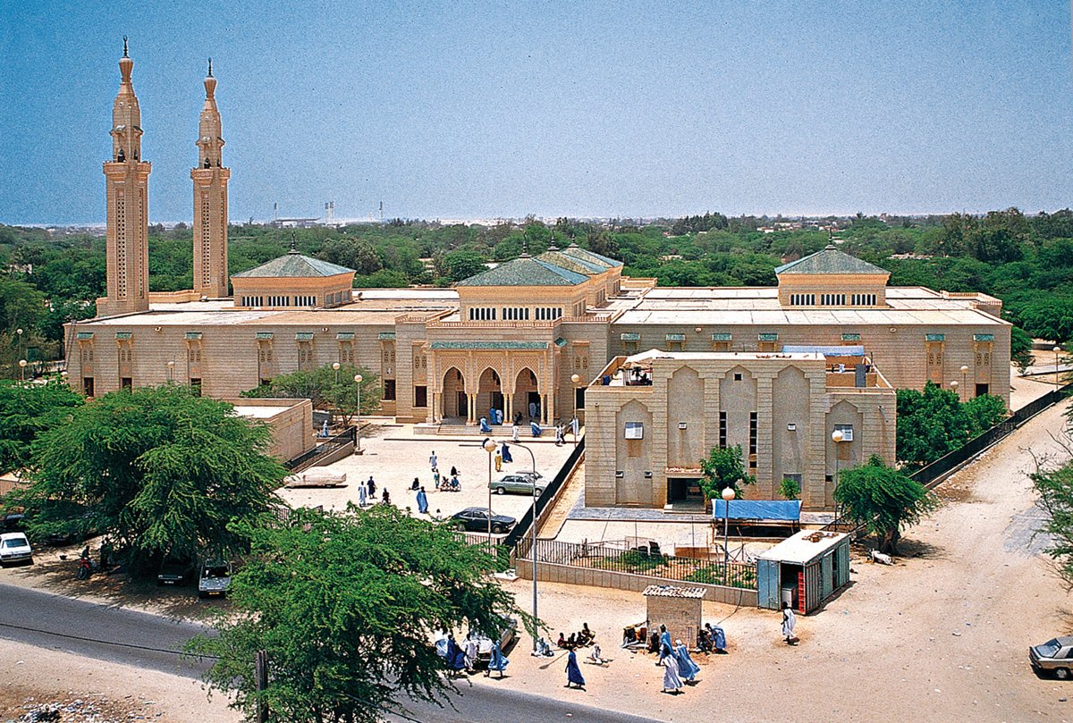 Moritanyada bir Camii