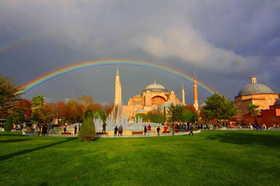 Ayasofya'nın Camii olduğu zamanlar