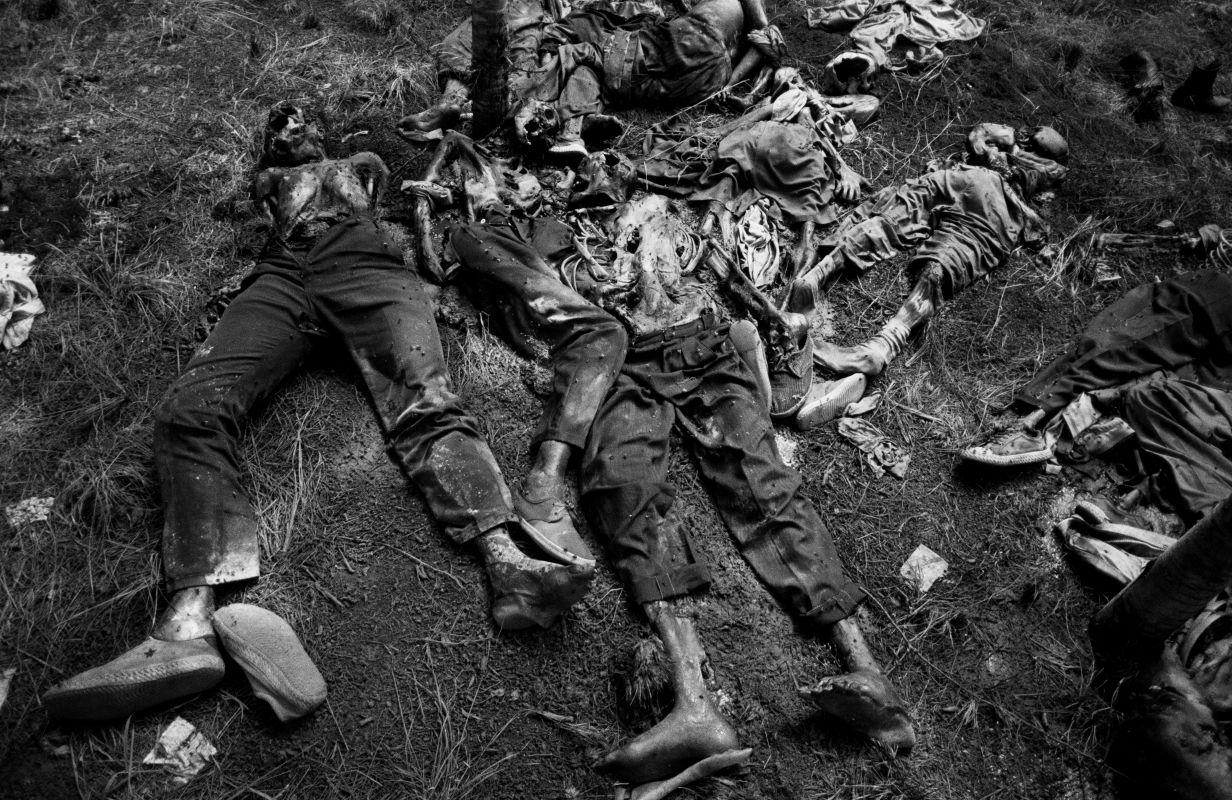 Fransızların katlettiği  yerliler