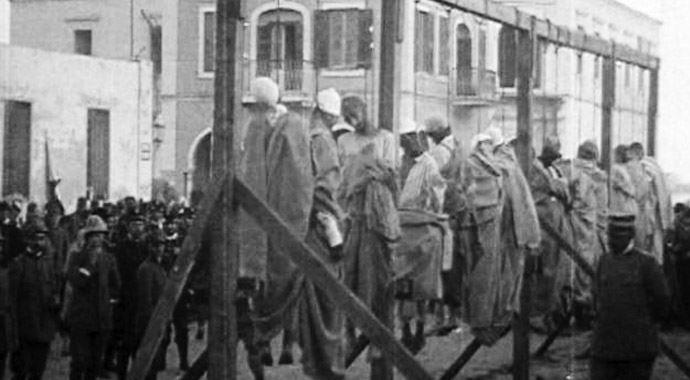 İtalyanlar  libyaya medeniyet götürdü(!)