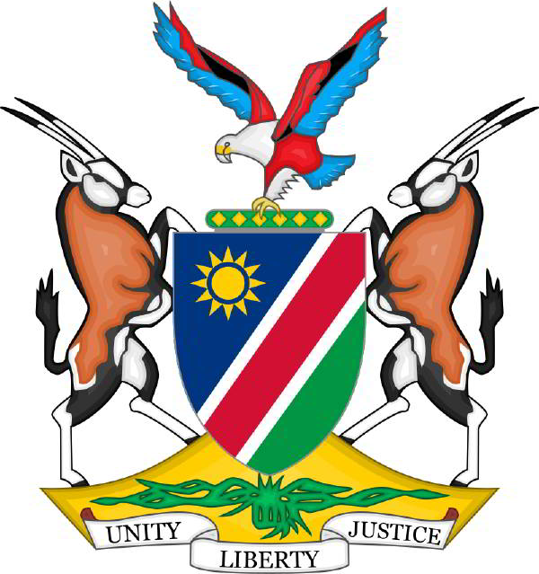 Namibya arması