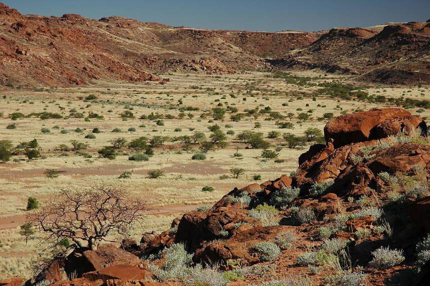 Namibya Cumhuriyeti (Güney Batı Afrika)