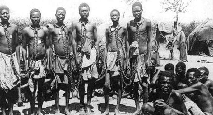 Almanya'nın Namibya'da yaptığı soykırım