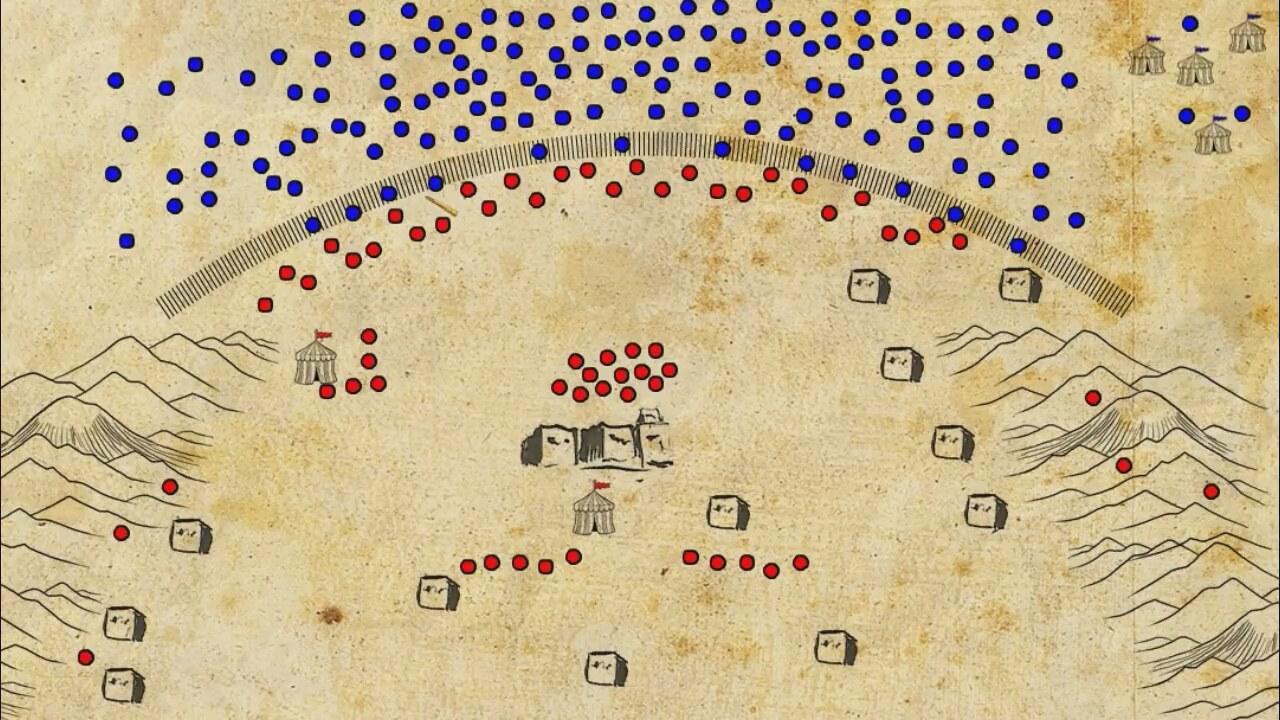 Topyekun kuşatılma: Hendek Savaşı