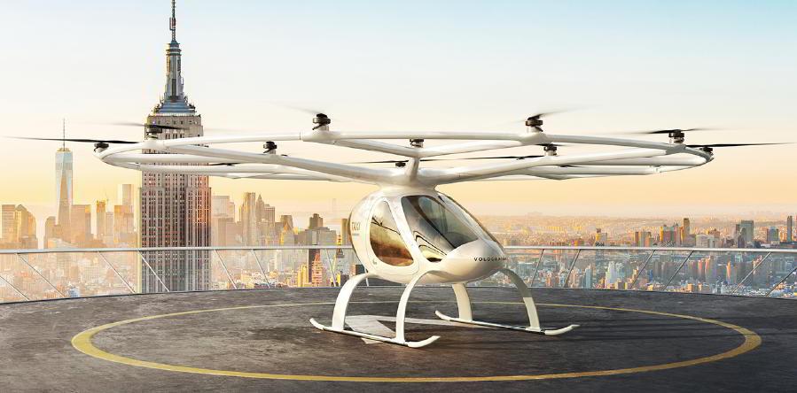 Uçan Taksi Dünyaya Tanıtıldı
