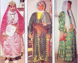 Denizli Yöresel Giysileri - Kıyafetleri