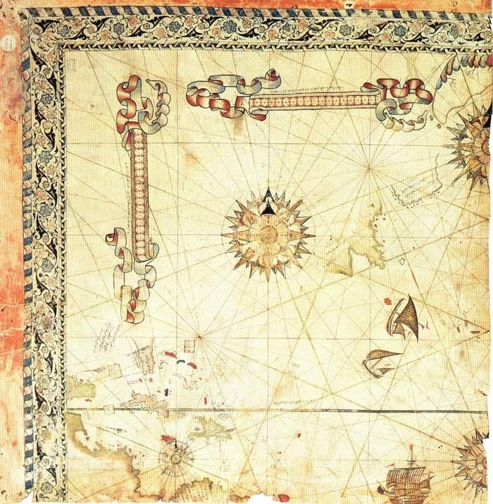 Piri Reis'in İkinci Dünya Haritası