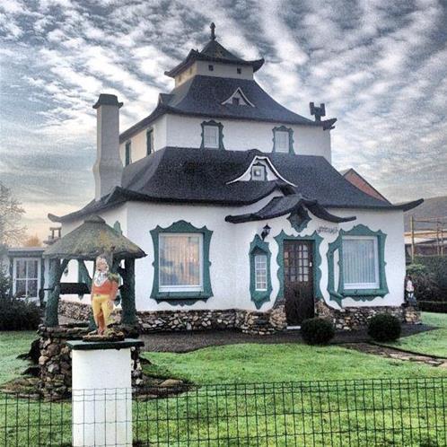 Belçika'daki İlginç Evler
