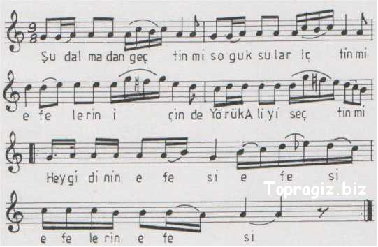 Efelerin Efesi (�u Dalma'dan Ge�tin Mi) S�z ve Notalar�
