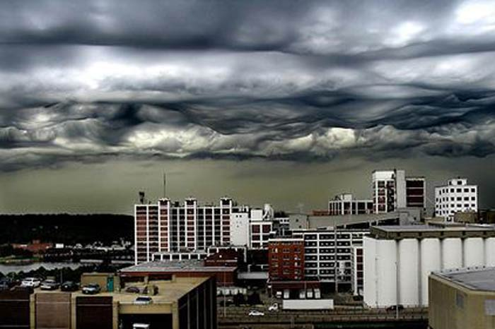 Ürkütücü Gökyüzü Fotoğrafları