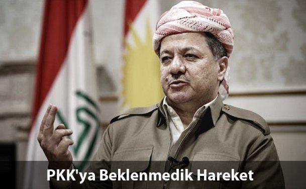 Barzani Sınırı PKK'ya Kapattı.