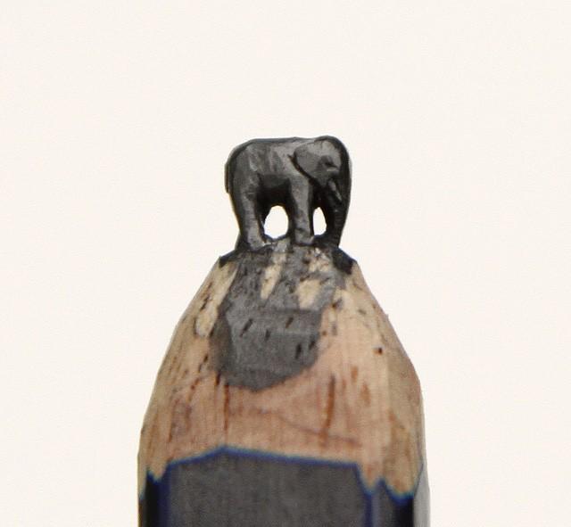 Kalemlerden Yapılan İlginç Şekiller