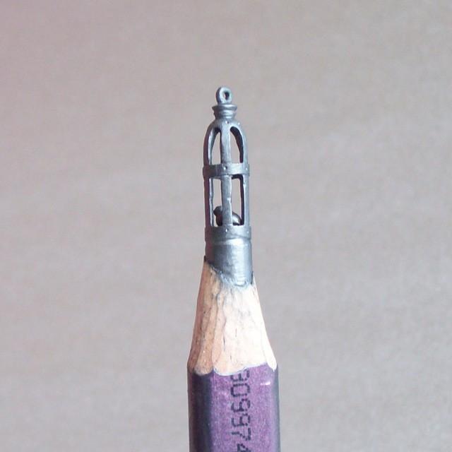 Kalemlerden Yap�lan �lgin� �ekiller