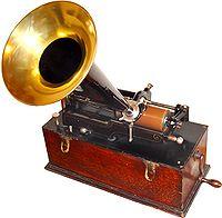 Gramofon - Fonograf