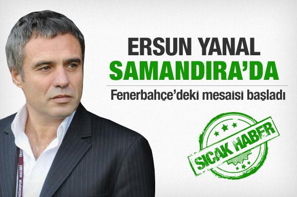 Ersun Yanal Fenerbahçe'de göreve başladı!