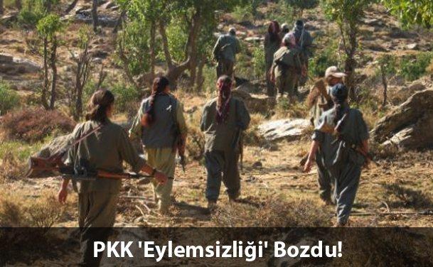 PKK Bing�l'de �antiye Bast�, 2 Ki�iyi Ka��rd�.