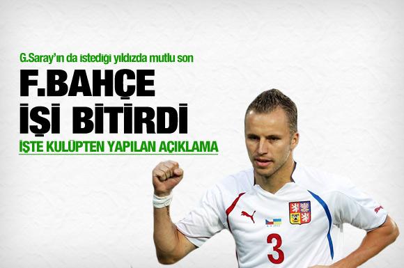Fenerbahçe Michal Kadlec'le anlaştı.