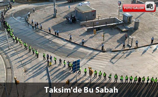 Polisden Sonra Gezi'de Bu Sabah (Galeri)