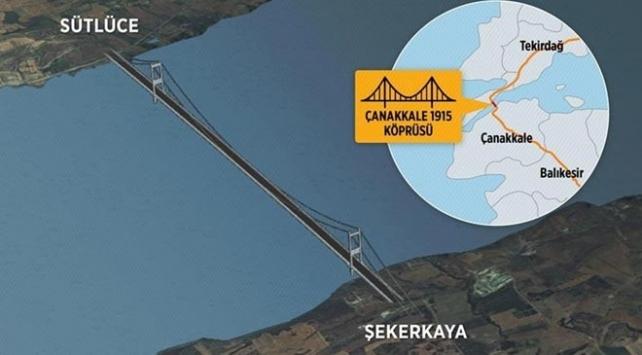 1915 Çanakkale Köprüsü'nün Temeli 18 Mart'ta Atılacak