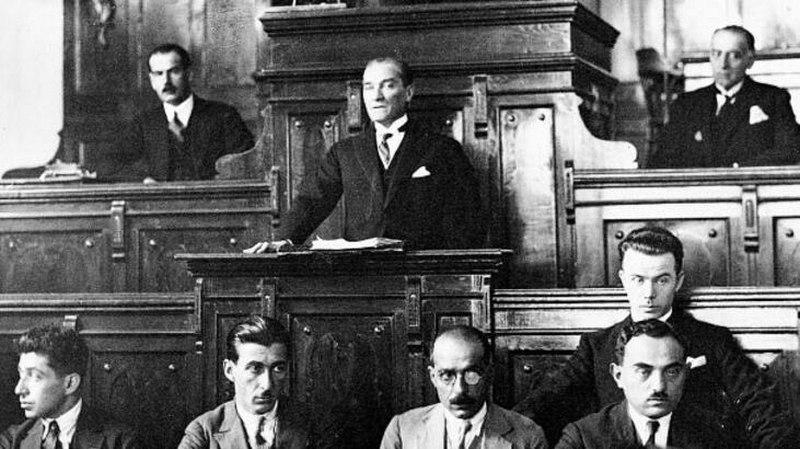 Türkiye'de Cumhuriyetin İlanı (29 Ekim 1923)