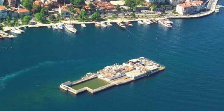 Galatasaray Adası - Kuruçeşme Adası