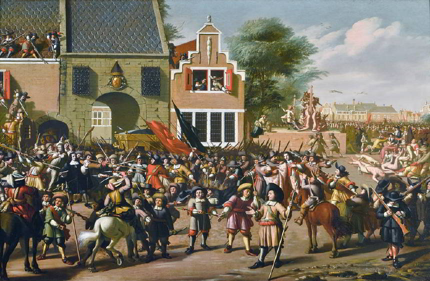 Johan de Witt - Linç Edilerek Öldürülen ve Organları Yenilen Hollanda Başbakanı