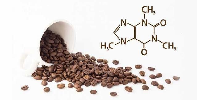 Kafein'in kimyasal yapısı