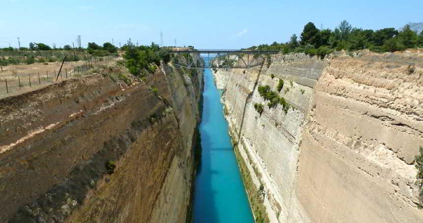 Korint Kanalı - Yunanistan