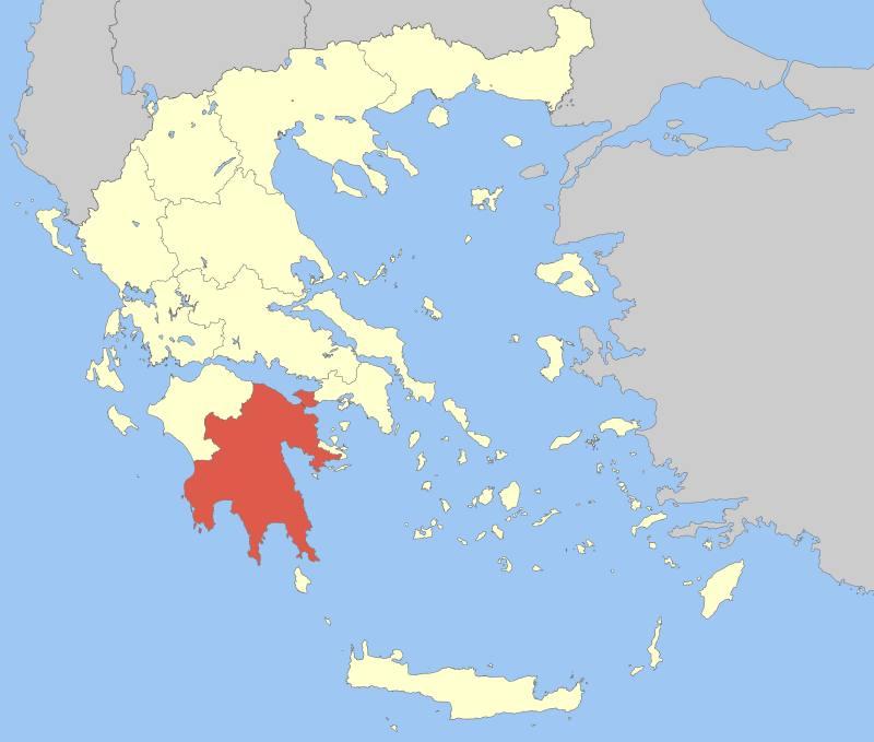Mora Yarımadası (Peloponez)