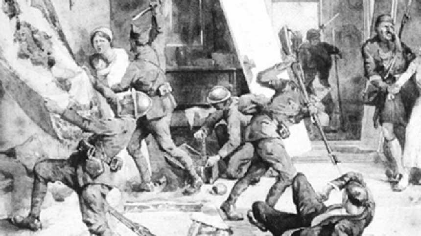 Navarin Katliamı - Yunanların Mora Yarımadası'nda 3 Bin Türk'ü Katletmesi