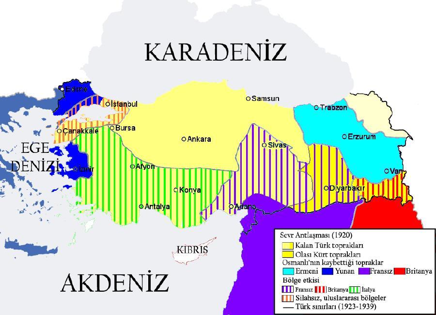 Sevr Antlaşması (10 Ağustos 1920)