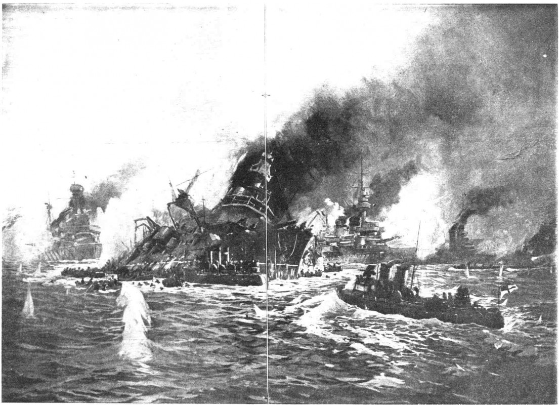 Struma yolcu gemisi Rus denizaltı tarafından batırılırken