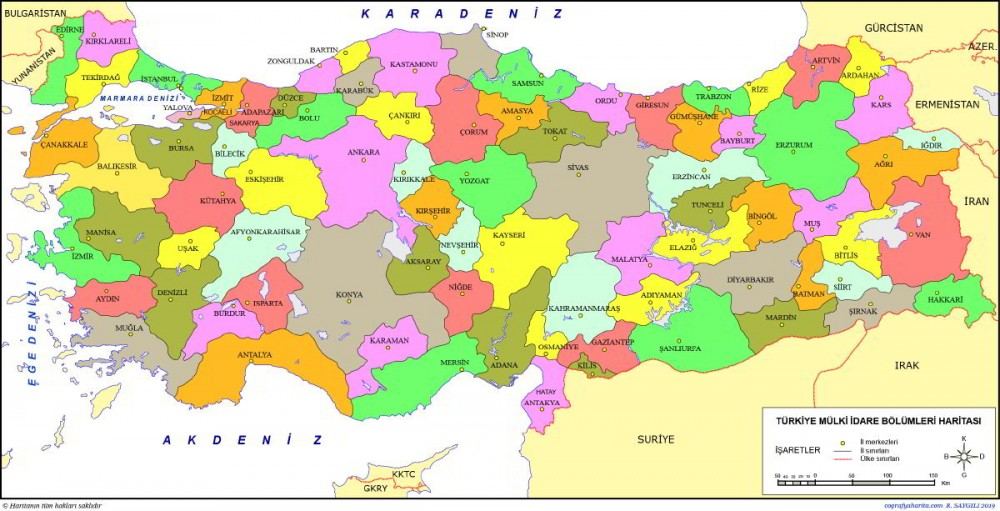 Türkiye Cumhuriyeti İller Kronolojisi