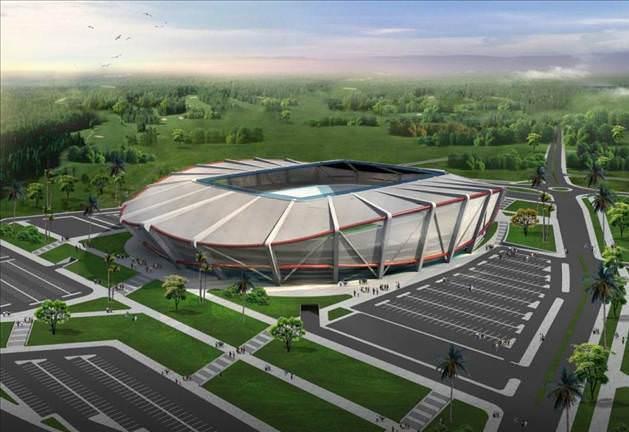Mersin Karetta görünümlü Stadyumu