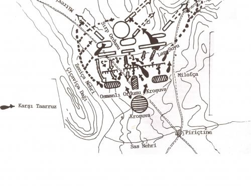 I. Kosova Meydan Muhârebesi ( 20 Haziran 1389 )