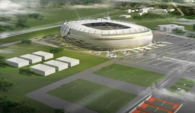 Sivas'ın akıllı Stadyumu