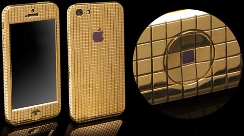 18 ayar altın kaplama iPhone 5