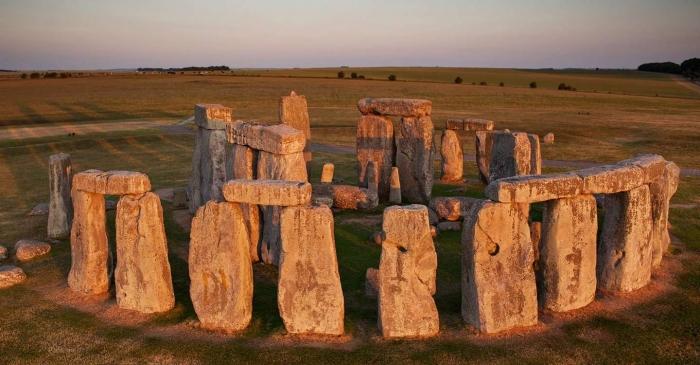 Stonehenge - Wiltshire, Birleşik Krallık