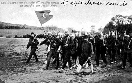 """""""Hareket Ordusu Efradının Makriköy Üzerine Yürüyüşü"""""""